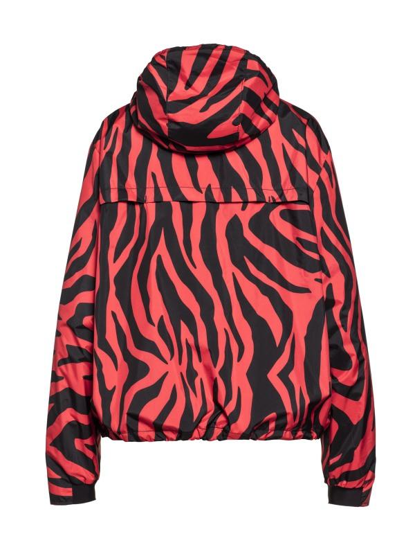 Goldbergh Tiana Jacke mit tiger red Print Ansicht von hinten
