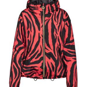 Goldbergh Tiana Jacke mit tiger red Print Ansicht von vorne