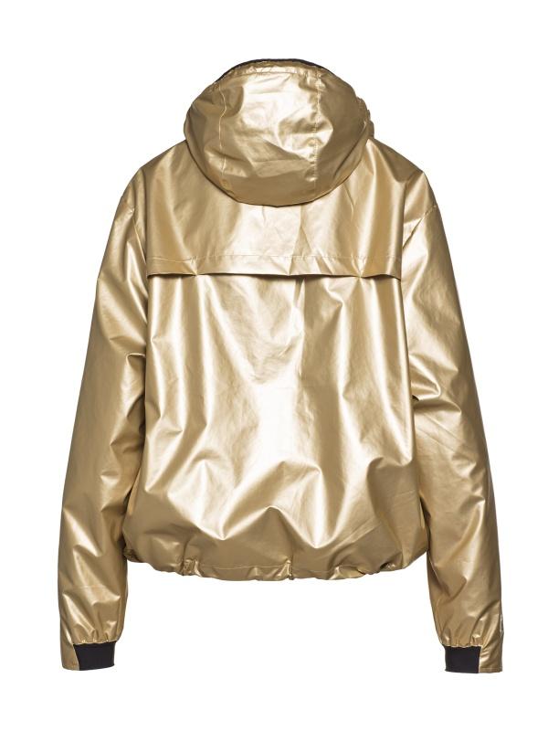 Goldbergh Gloria Jacke für Damen in Gold Ansicht von hinten