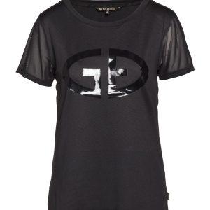 Goldbergh T-Shirt DOROTI in schwarz Ansicht von vorne