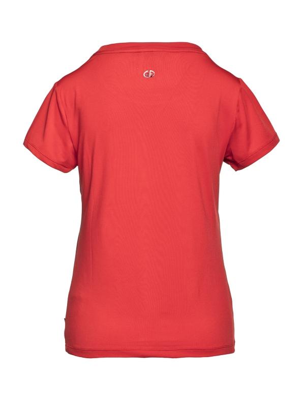 Goldbergh DOMINIK T-Shirt Farbe flame Ansicht von hinten