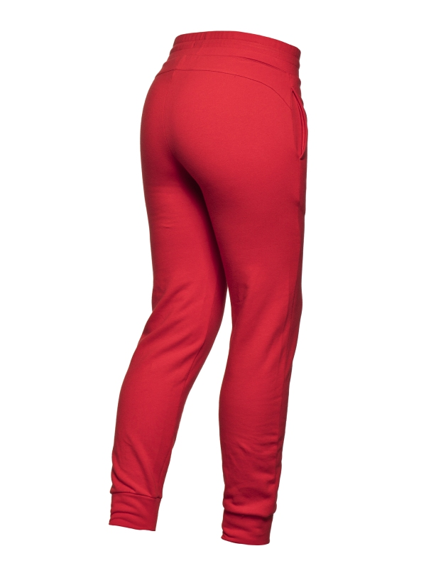 Goldbergh Fania Pant rot Ansicht von hinten seitlich