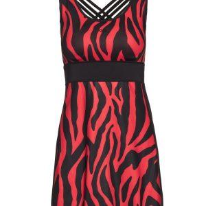 Goldbergh Tinda Kleid tiger red Ansicht vorne
