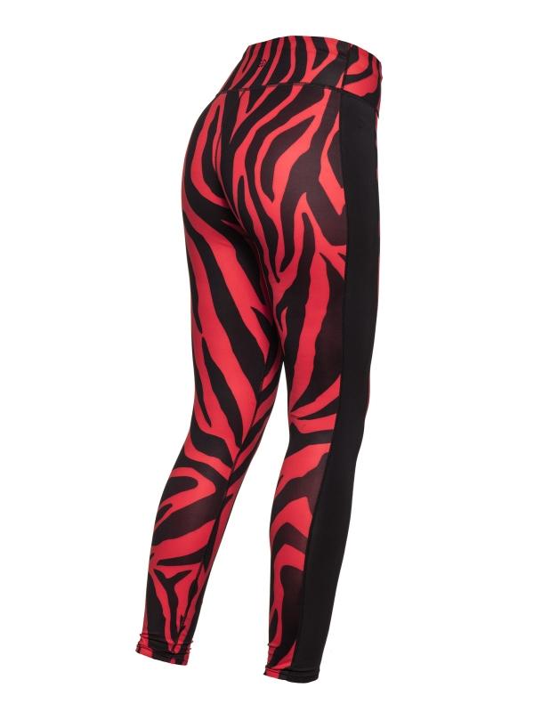 Goldbergh Tatiana tight tiger red Ansicht hinten seitlich