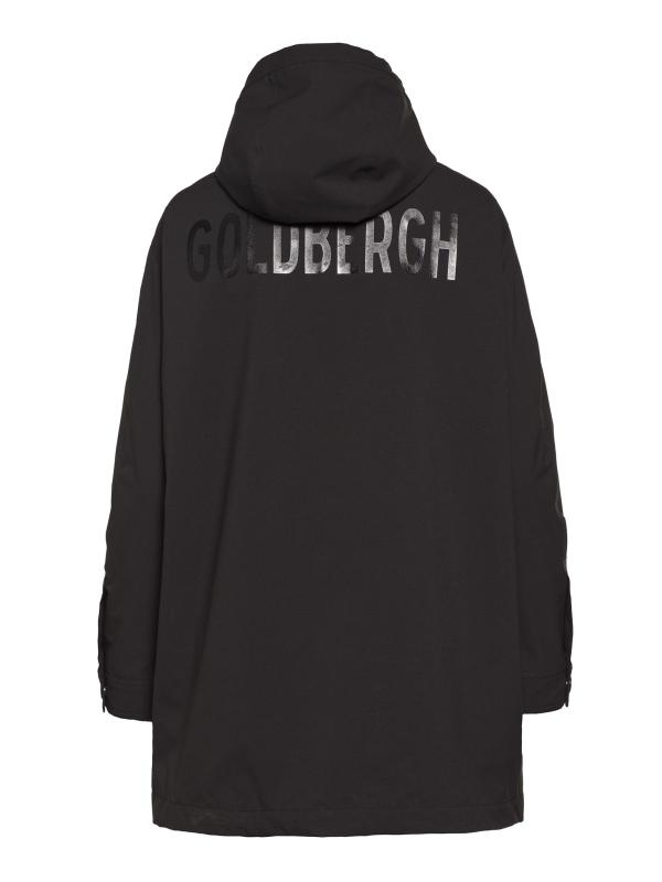 Goldbergh Odelia Jacke für Damen in schwarz, Ansicht von hinten