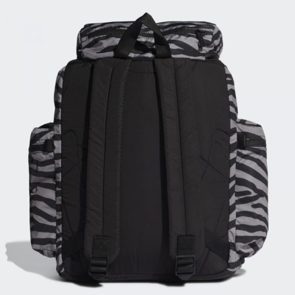 Stela McCartney HB5780 Rucksack silber schwarz zebra